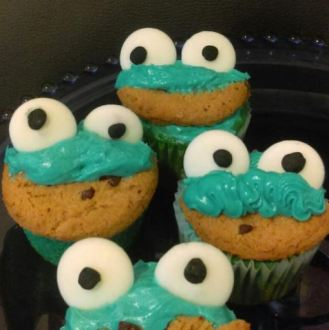 CookieMonster CupCake