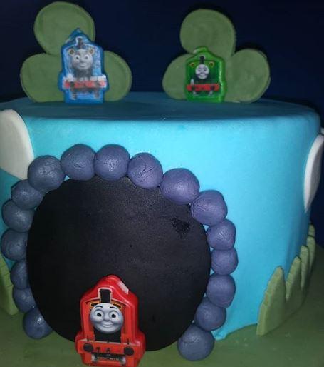 ThomasTrain Cake